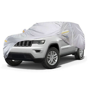 Full Car Cover For Jeep Grand Cherokee Waterproof Uv Resistant Snow Protection