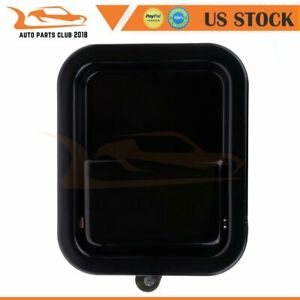 For 1997 2006 Jeep Wrangler Outside Driver Door Handle Left Full Door Only Black
