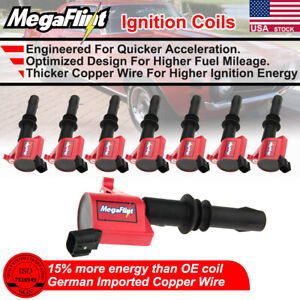 8 Dg511 Ignition Coil Pack For Ford F150 Pickup 2004 2005 2006 2007 2008 V8 5 4l