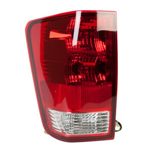 Tail Light Assembly Left Tyc 11 6000 00 Fits 04 15 Nissan Titan