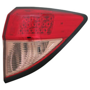Tail Light Assembly capa Certified Tyc 11 6809 01 9 Fits 16 18 Honda Hr v