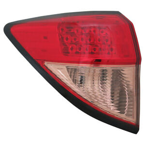 Tail Light Assembly capa Certified Tyc 11 6810 01 9 Fits 16 18 Honda Hr v