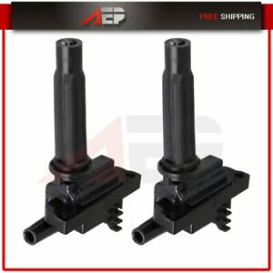 Ignition Coils On Plug For 1999 2001 Mazda Protege L4 1 6l Uf276 Set Of 2