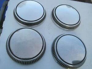 Set Of 4 Oem Ford Pinto Fairmont Mustang Police Mercury Poverty Dog Dish Hubcaps