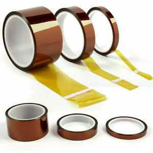 100ft Kapton Polyimide Tape Adhesive High Temperature Heat Resistant Multi use