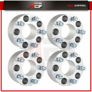 4 Pcs 5x4 75 Wheel Spacers 2 5 12x1 5 For Gmc Sonoma Chevy Corvette S10 Camaro