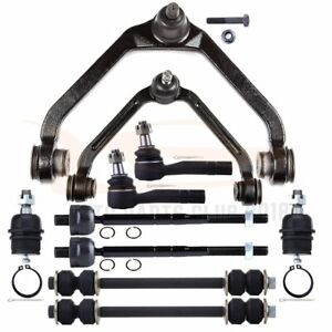 10pcs Control Arms Tie Rods Ball Joints Suspension Kit For 1998 2011 Ford Ranger