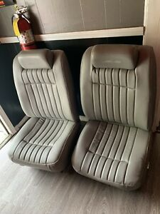 1994 1995 1996 Chevy Impala Ss Gray Front Power Bucket Seats 94 95 96 Nice