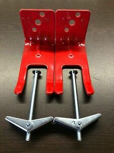 2 new Fork Style Wall Mount 5 10 Size Fire Extinguisher Amerex Bracket toggle