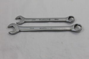 Lot Of 2 Matco Tools 12 Point Combination Wrenches 19mm 16mm Rc19m2 Rc16m2 Usa