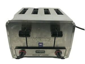 Waring Commercial Restaurant 4 Slice Heavy duty Toaster Wct800