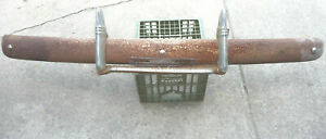 1941 Chevrolet Special Deluxe Front Bumper With Guards And Mounting Brackets
