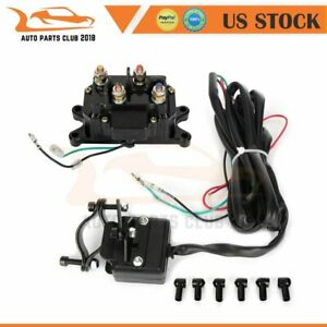 Contactor Winch Rocker Combo Solenoid Relay Thumb Switch