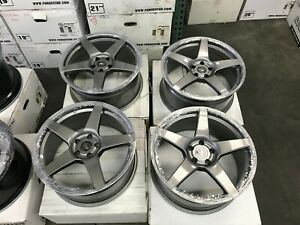 19 Inch Forgestar Cf5 Concave Forged Wheels Rims Audi A4 S4 Tt Rs 8j 5x112
