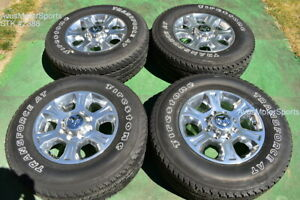 18 Dodge Ram Laramie Oem Factory Polished Wheels Tires 2500 3500 2019 2020