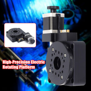 100mm Electric Precision Optical Rotating Platform Motorized Rotation Stage