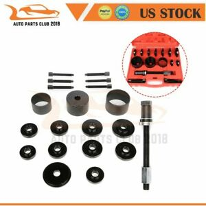 19pcs Front Wheel Drive Hub Bearing Puller Press Adapter Puller Removal Tool Kit