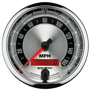 Autometer 1288 American Muscle Electric 0 160mph Speedometer 3 3 8 Gauge