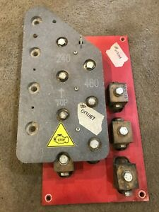 Link Board Terminal Block Panel From Wacker Neuson G240 Generator 480v 240v