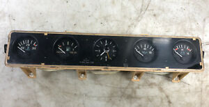 Jeep Wrangler Yj 87 91 Center Dash Gauge Set Cluster Oil Fuel Clock Temp Volt