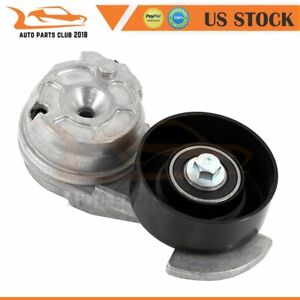 Serpentine Belt Tensioner W pulley For 2w7z6b209aa Ford Lincoln Mercury V8 4 6l