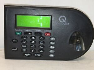 Qqest Isolved Velocity V800s Biometric Time And Attendance Clock no Ac Adapter