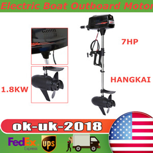 Hangkai 7hp Heavy Duty Brushless Electric Boat Outboard Motor Boat Engine 48v Us