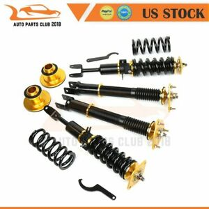 Coilovers Struts Suspension Springs Kits For Nissan 350z 2003 2008 Adj Height