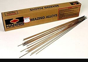 15 Rods Lot Harris Stay Silv 15 Silver Brazing Alloy Rods Read Discription