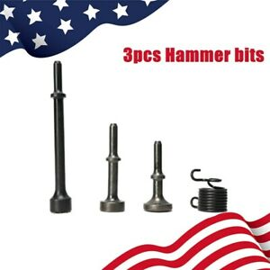 Air Hammer 3pcs Smoothing Pneumatic Air Hammer Pneumatic Chisel Bit Set New Sale