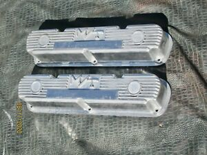 Mopar M t Valve Covers 273 318 340 360 Dodge Plymouth Mickey Thompson Nos Boxed