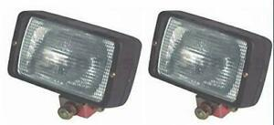Plough Work Lamp Lights l r Pair For Case International Tractor