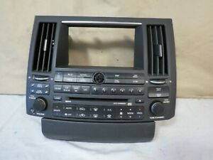 03 04 05 Infiniti Fx Radio Cd Sat Tape Player Climate Control Oem 28396 cg700
