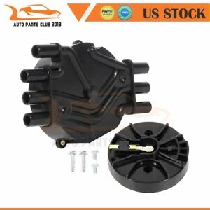 Ignition Distributor Cap And Rotor For Chevy C1500 Gmc Pickup 4 3l