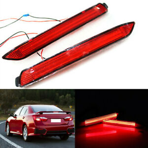 A Pair Guide Led Rear Fog Lamp Driving Lamp For Toyota Camry mark X 2012 15