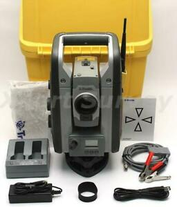 Trimble Sps930 Dr Plus 1 1 Sec Precision 2 4 Ghz Robotic Total Station