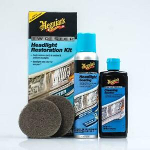 Meguiars G2970 Meguiars Two Step Headlight Restoration Kit 4 Fl Oz 1 Pack