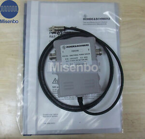 New Rohde Schwarz R s Fsh z44 Directional Power Sensor 0 2 4 Ghz For Fsh3