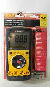 Sperry Instruments Dm6450 Auto ranging 9 Function Digital Multimeter