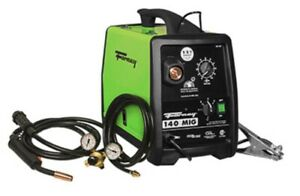 New Forney 309 120 Volt 30 140 Amp Heavy Duty Electric Mig Welder Kit