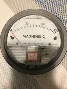 Dwyer Magnehelic Pressure Gauge Inches Of Water