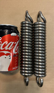 312 Wire Heavy Duty Extension Spring Lot Of 2