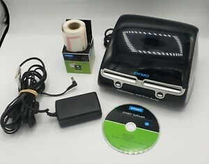 Dymo Label Writer 450 Twin Turbo Label Postage Printer complete W partial Rolls