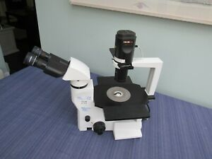 Labomed Tcm 400 Inverted Phase Contrast Microscope 3 Optics Guaranteed