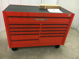 Matco Tools Toolbox crazy Deal 4225r 4s Series orange local Pickup Only