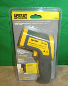 Sperry Irt200 Tempcheck Non contact Infrared Thermometer 12 1 Ratio New