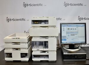 Agilent Hp 1100 Series 7 piece Hplc System Vwd Computer W chemstation