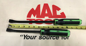 Mac Tools 2pc Prybar Set Green