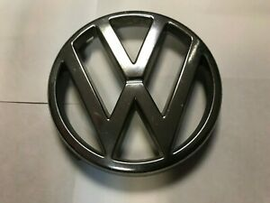 Vw Volkswagen 1980 s 1984 1987 Vintage Grill Ornament 165853601 601a