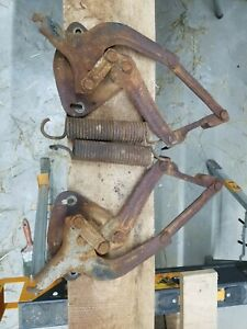 1960 1966 Chevy Gmc Oem Left And Right Hood Hinges And Springs